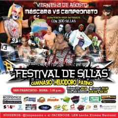 FESTIVAL DE SILLAS DE LA LXN ESTE VIERNES 21 DE AGOSTO
