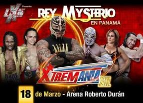 REY MISTERIO, DALYS LA CARIBEÑA Y CARÍSTICO EN LA LXN EL 18 DE MARZO EN PANAMÁ