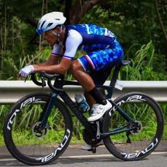 El ciclista panameño Christofer Jurado rumbo a Asia